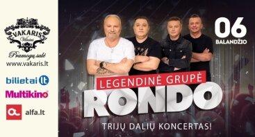 "Grupės ""RONDO"" koncertas"