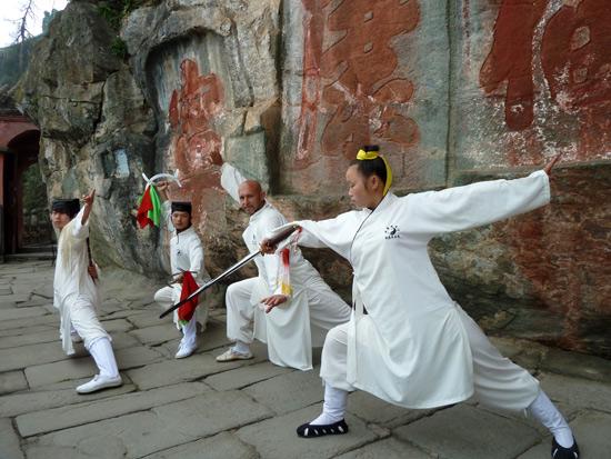 Įvadas į Wudang Taichi praktikas