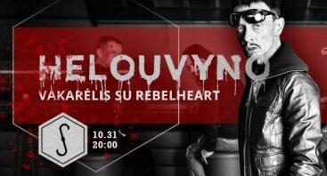 "Sandėlio Helovynas su grupe ""Rebelheart"""