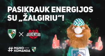 """Kauno """"Žalgiris"""" – Utenos """"Juventus"""""""