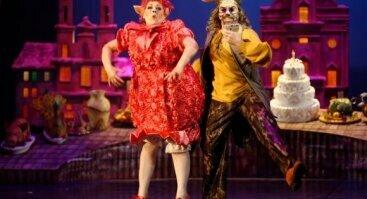 """Komiška opera vaikams """"Ausinė kepurė"""""""