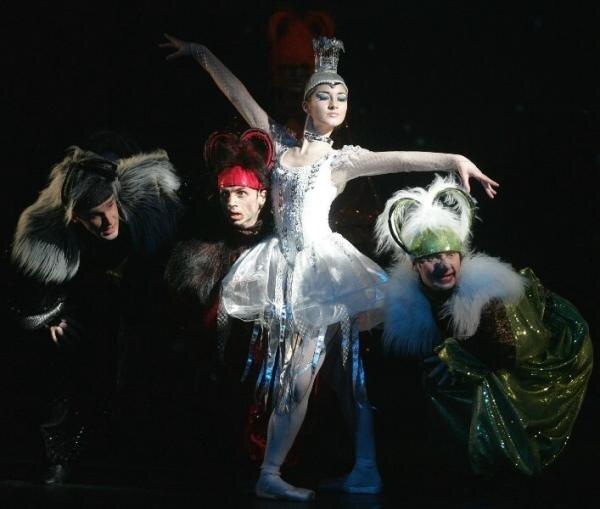 """Baletas vaikams """"Sniego karalienė"""""""