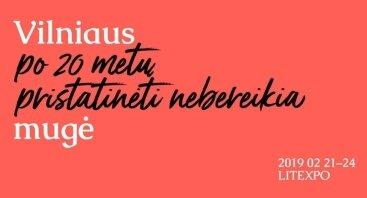 Vilniaus knygų mugė 2019
