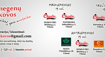 Smegenų kovos (protmūšis) @ KATPĖDĖLĖ (PC MADA)