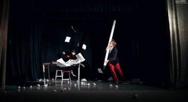 Trupės Meno Kiaušai spektaklis CHARMS 14