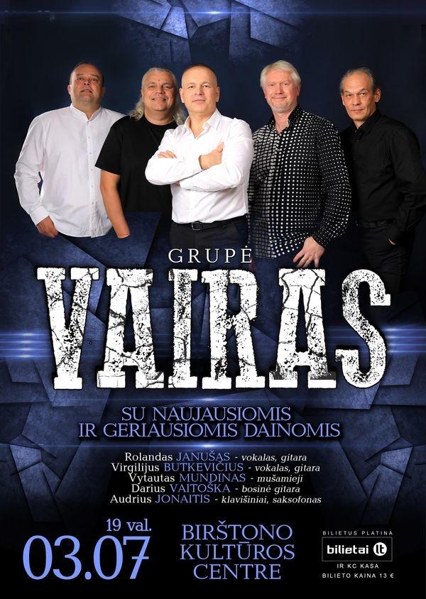 """Grupė """"VAIRAS""""-  """"MUMS VISKAS GERAI"""""""