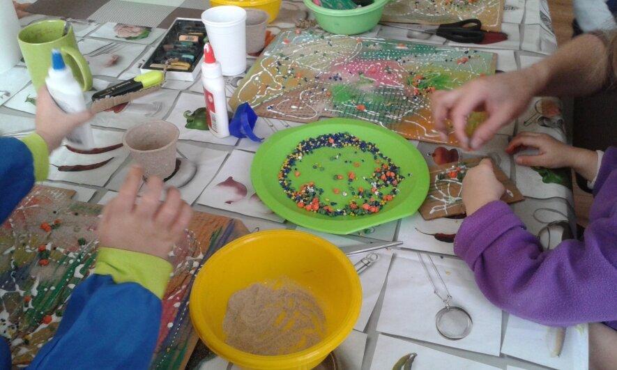 """Kūrybinės raiškos užsiėmimai 4-7 m. vaikams """"Kurdamas aš augu"""" Kaune"""