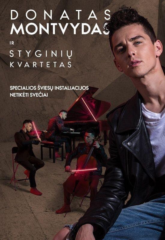 DONATAS MONTVYDAS ir Styginių kvartetas