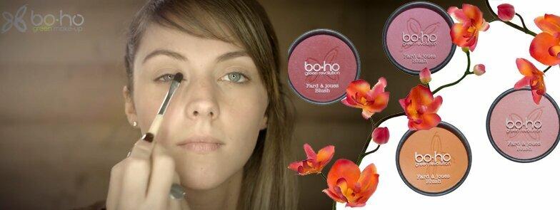 Makiažo pamoka su BoHo natūralia dekoratyvine kosmetika