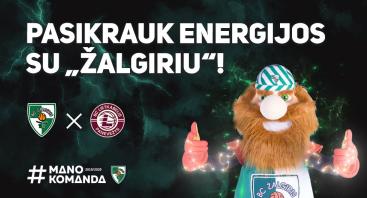 """Kauno """"Žalgiris"""" – Panevėžio """"Lietkabelis"""""""