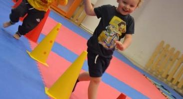 3-5 metų vaikų sporto užsiėmimai - Mažųjų sportas