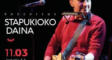 Kazimiero Jakučio ir grupės koncertas STAPUKIOKO DAINA