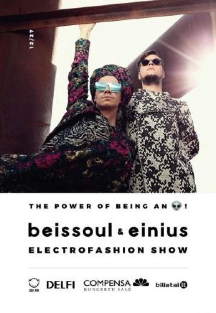 """BEISSOUL & EINIUS """"ELECTROFASHION SHOW 2017"""""""