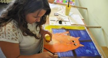 """Kūrybiniai vasaros pusiaudieniai  """"Kūrybinė dekoravimo ir rankdarbių stovykla"""" 7-16m. vaikams"""