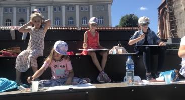 """Kūrybiniai vasaros pusiaudieniai su dailininku  """"Jaunasis dailininkas"""" 7-14m. vaikams"""