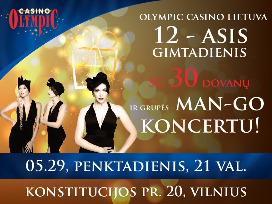 olympic casino lietuva