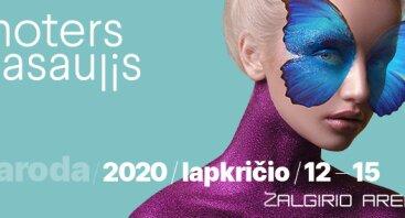 """Paroda """"Moters pasaulis 2020"""""""