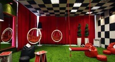 Ištrūk iš galvosukių ir užduočių kambario Palangoje (baisusis Pjūklas, Casino ar vaikams Crazy room)