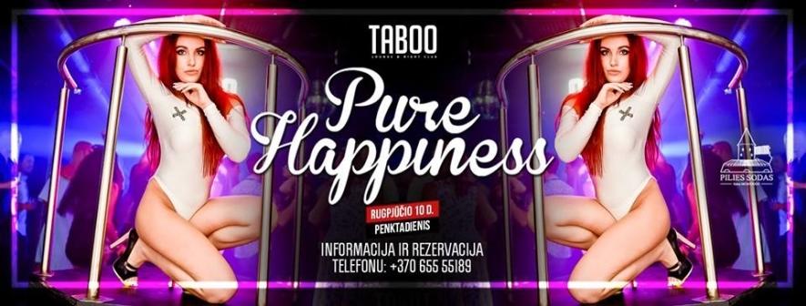 TABOO: PURE HAPPINESS