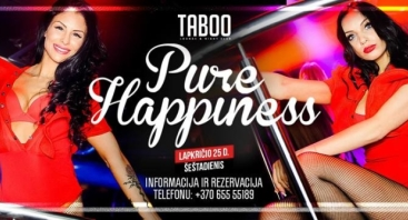 TABOO: PURE HAPPINESS