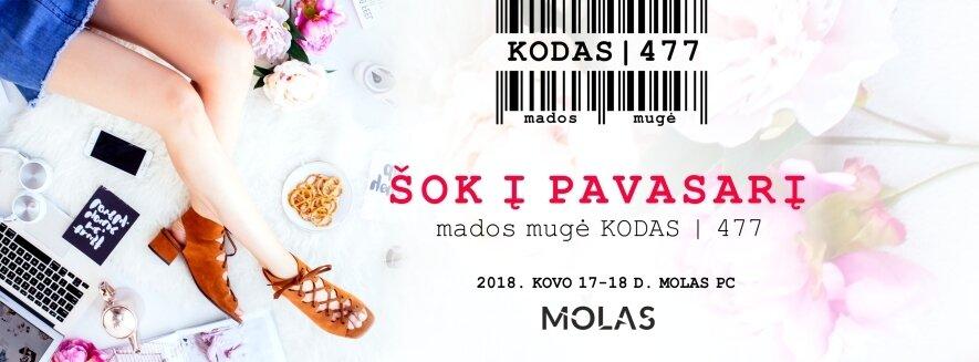 Mados mugė KODAS|477 prekybos centre Molas