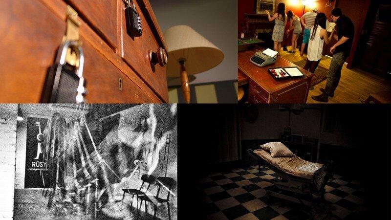 Loginis žaidimas - ar sugebėsi su draugais išspręsti logines užduotis  ir ištrūkti iš užrakinto kambario?