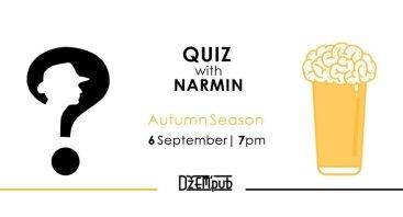 Pub Quiz with Narmin