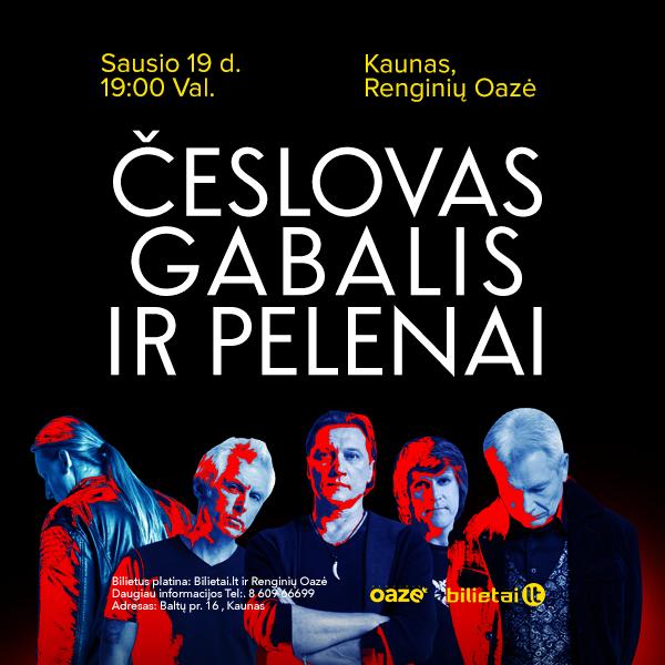 Česlovas Gabalis ir Pelenai, Valentino dienos koncertas