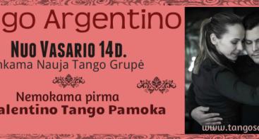 ARGENTINIETIŠKO TANGO PAMOKOS PRADEDANTIESIEMS KAUNE