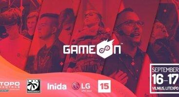 """Žaidimų kultūros paroda """"GameOn"""""""