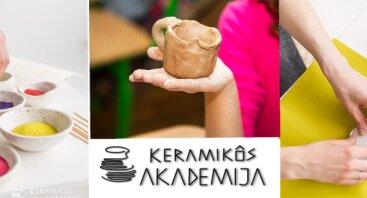 Keramikos būrelis (7-16 m. grupei)