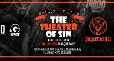 THE THEATER OF SIN - HALLOWEEN MASQUERADE