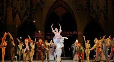 """Baletas vaikams """"Snieguolė ir septyni nykštukai"""""""