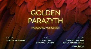 Golden Parazyth koncertas