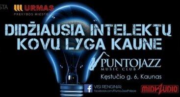 Didžiausia intelektų kovų lyga Kaune