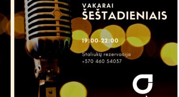 """Gyvos muzikos vakaras restorane """"Gradiali"""""""