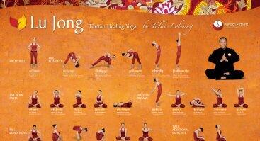 Gydančios Tibeto Jogos Lu Jong užsiėmimai