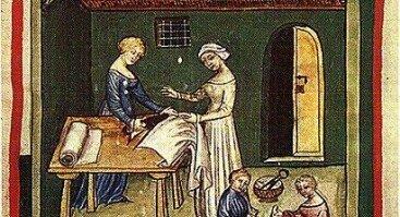 Viduramžių kostiumo dirbtuvės