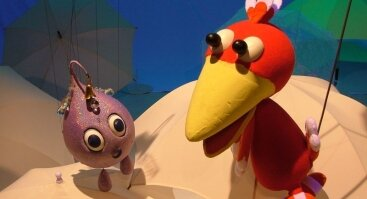"""Lėlių spektaklis vaikams """"Pasaka apie lietaus lašelį"""""""