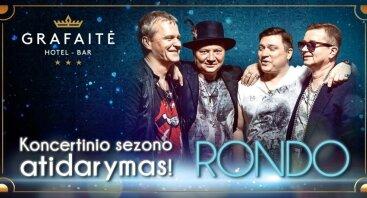 Grupės RONDO gyvo garso koncertas Grafaitėje
