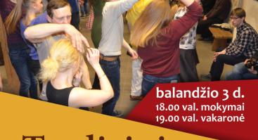 Tradicinių šokių vakaras