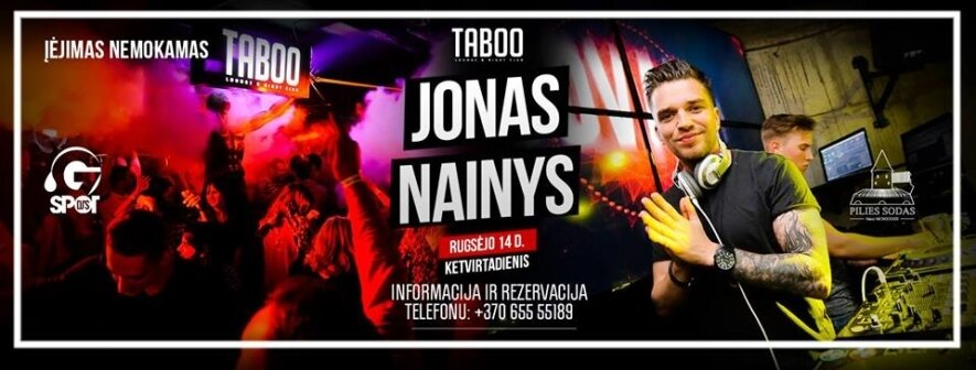 """Jonas Nainys """"KITOKIE TABOO KETVIRTADIENIAI"""""""