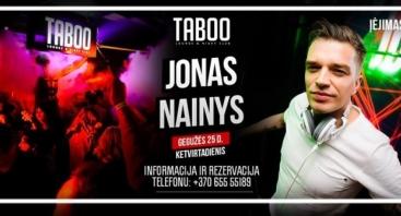 JONAS NAINYS TABOO CLUB