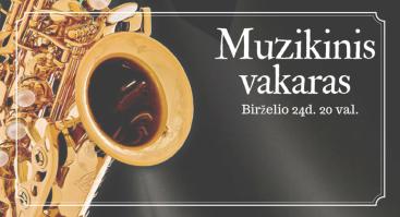 Muzikinis vakaras Gradiali Palangoje