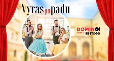 "DOMINO teatras BE STOGO | ""Vyras po padu"""