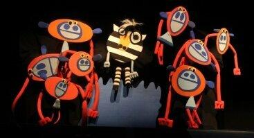 """Lėlių spektaklis vaikams """"Žirafa su kojinėmis"""""""