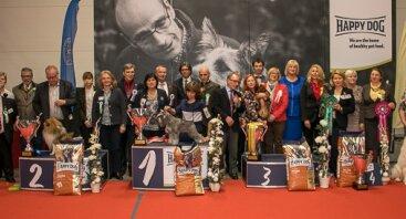 """Tarptautinė šunų paroda """"KAUNO NUGALĖTOJAS'18"""" ir """"KIKOS TAURĖ'18"""""""