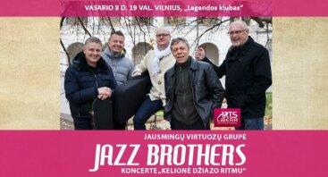 """Jazz Brothers koncerte """"Kelionė džiazo ritmu"""""""