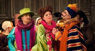 """Komiška opera """"Vindzoro šmaikštuolės"""""""