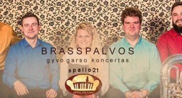 """Grupės """"Brasspalvos"""" koncertas"""